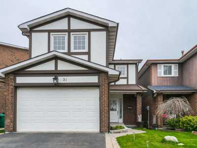 31 ASHURST  Cres ,  W4448057, BRAMPTON,  for sale, , Raj Sharma, RE/MAX Realty Services Inc., Brokerage*
