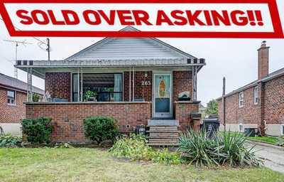 265 Aldercrest Rd ,  W4610514, Etobicoke,  sold, , Stacey Robinson, Royal LePage Realty Plus Oakville, Brokerage*