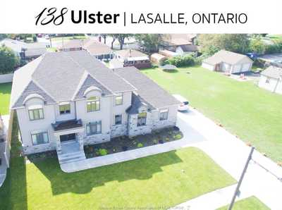 138 ULSTER ,  20000233, LaSalle,  for sale, , Alex  Sharma , HOMELIFE GOLD STAR REALTY INC. Brokerage*