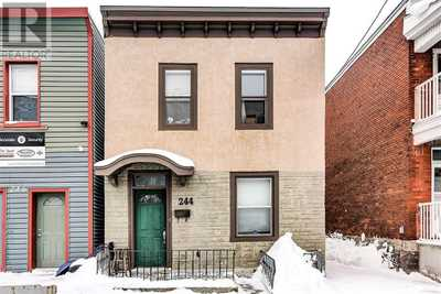 244 ROCHESTER STREET,  1182528, Ottawa,  for sale, , Henga Nayeri, Sutton Group - Ottawa Realty, Brokerage
