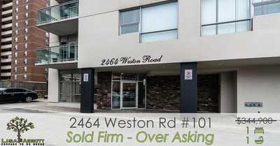 2464 Weston Rd ,  W4718514, North York,  sold, , Lisa Abbott, RE/MAX Jazz Inc., Brokerage *