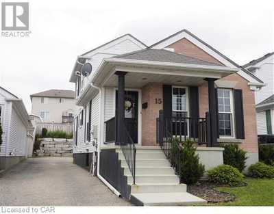 15 MILFOIL Crescent Unit# A,  40021234, Kitchener,  for rent, , Christina Howell-McLellan, RE/MAX Twin City Realty Inc., Brokerage*