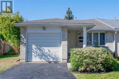 417 BENESFORT Court,  40023640, Kitchener,  for sale, , John Finlayson, RE/MAX Twin City Realty Inc., Brokerage *