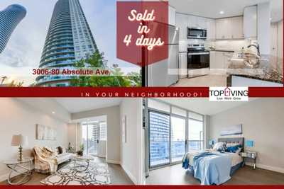 80 Absolute  Ave , Mississauga,  sold, , Leslie Zhang, Keller Williams Realty Solutions, Brokerage *