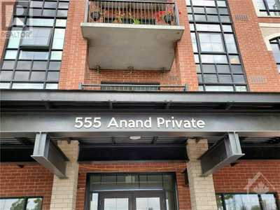555 ANAND PRIVATE UNIT#604,  1211308, Ottawa,  for sale, , Michel Dagher, Coldwell Banker Sarazen Realty, Brokerage*