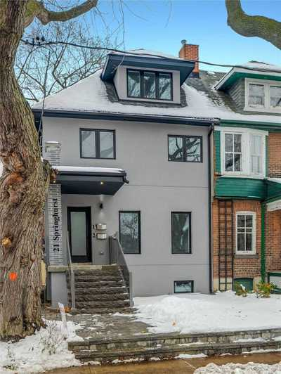 21 Springhurst Ave,  W4949207, Toronto,  for rent, , Michelle Whilby, iPro Realty Ltd., Brokerage