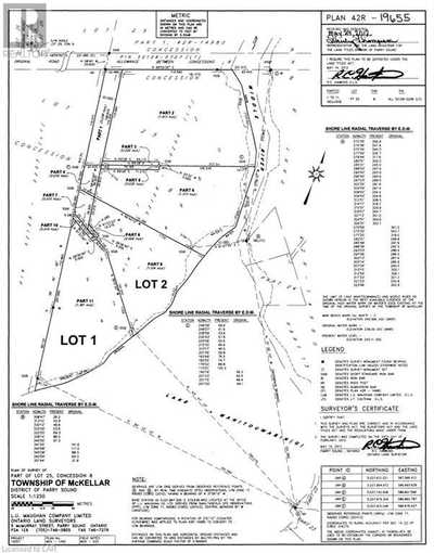LOT 2 UNNAMED Road,  40039623, McKellar,  for sale, , Gary Phillips, RE/MAX PARRY SOUND MUSKOKA REALTY LTD., BROKERAGE*