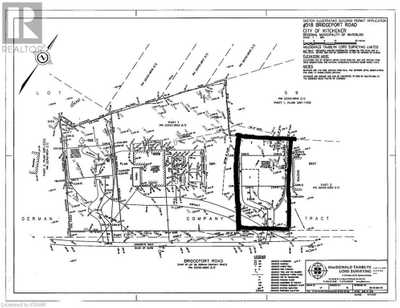 518 BRIDGEPORT Road Unit# LOT 2,  40037518, Kitchener,  for sale, , John Finlayson, RE/MAX Twin City Realty Inc., Brokerage *