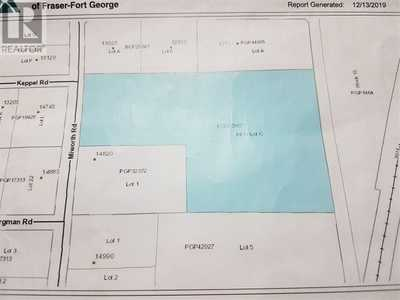 LOT C MIWORTH ROAD,  R2429988, Prince George,  for sale, , RE/MAX Centre City Realty