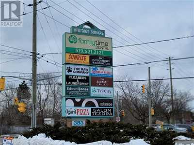 383 ELGIN Street N Unit# 12,  40053706, Cambridge,  for lease, , Shaw Poladian, RE/MAX Twin City Realty Inc., Brokerage*
