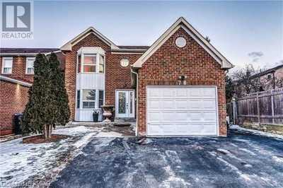78 NICKEL Crescent,  40085263, Brampton,  for sale, , Elias Jiryis, RE/MAX Twin City Realty Inc., Brokerage *