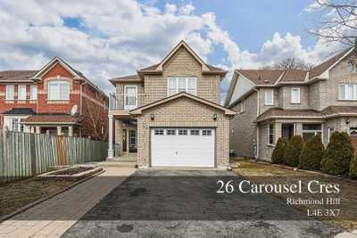 26 Carousel Cres,  N5180003, Richmond Hill,  for sale, , Steven Guo, BAY STREET GROUP INC., Brokerage*