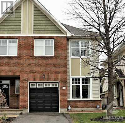 110 WATERBRIDGE DRIVE,  1240346, Ottawa,  for sale, , Megan Razavi, Royal Lepage Team Realty|Real Estate Brokerage
