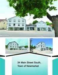 34 Main St S,  N5230056, Newmarket,  for sale, , TOP CANADIAN REALTY INC., Brokerage