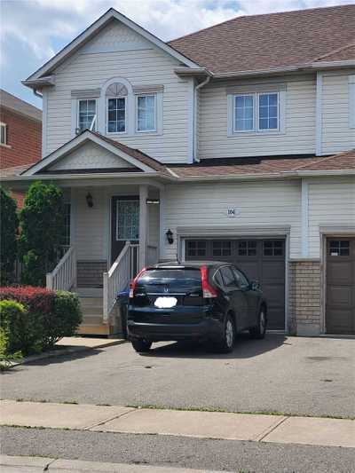 104 Viceroy Cres,  W5320957, Brampton,  for rent, , Paul Fuller, RE/MAX REAL ESTATE CENTRE INC.