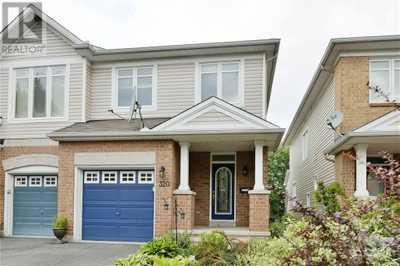 320 PARKIN CIRCLE,  1257833, Ottawa,  for sale, , Sorin Vaduva, FIRST CHOICE REALTY ONTARIO LTD., BROKERAGE*