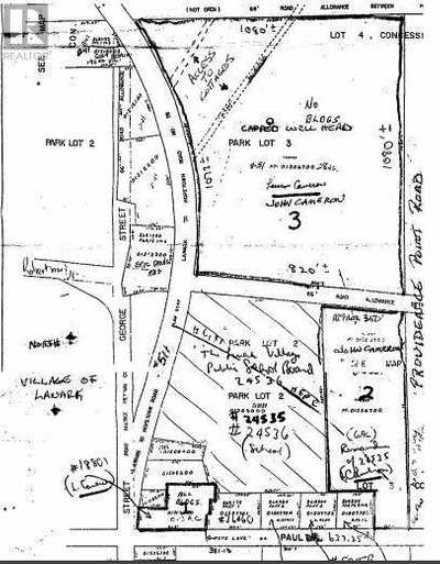 Lot 3 GEORGE STREET,  1259578, Lanark,  for sale, , Federick Yam, RE/MAX Hallmark Realty Group, Brokerage*
