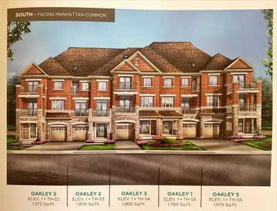 477 Manhattan Common,  W5354526, Oakville,  for sale, , Evelyn  Lee, Spectrum Realty Services Inc., Brokerage *
