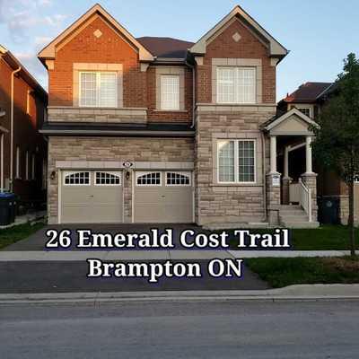 26 Emerald Coast Tr,  W5342324, Brampton,  for sale, , Bobby Sengar, Dynamic Edge Realty Group Inc., Brokerage