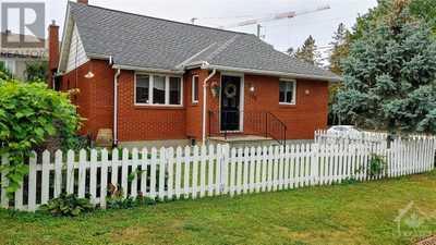 434 HILSON AVENUE,  1265122, Ottawa,  for sale, , Federick Yam, RE/MAX Hallmark Realty Group, Brokerage*